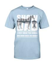 Horse Show Dad T-Shirt Classic T-Shirt front