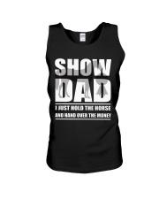 Horse Show Dad T-Shirt Unisex Tank thumbnail