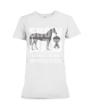 Horse Show Dad T-Shirt Premium Fit Ladies Tee thumbnail