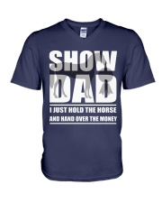 Horse Show Dad T-Shirt V-Neck T-Shirt tile