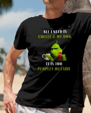 Grinches-All-I-Need-Is-Coffee Classic T-Shirt lifestyle-mens-crewneck-front-11