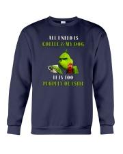 Grinches-All-I-Need-Is-Coffee Crewneck Sweatshirt thumbnail