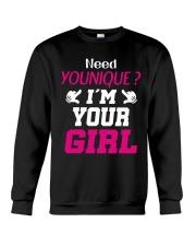 Need younique i'm your Girl Crewneck Sweatshirt thumbnail