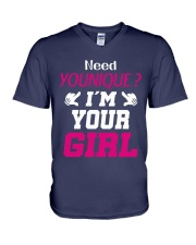 Need younique i'm your Girl V-Neck T-Shirt thumbnail