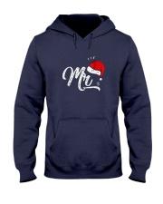 Mens-Funny-Christmas-Couple-Matching Hooded Sweatshirt thumbnail