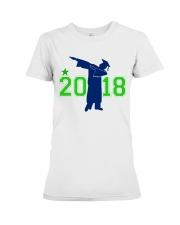 Senior 2018 Graduation Dabbing Shirt Premium Fit Ladies Tee thumbnail