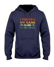 I-Paused-My-Game-to-be-Here Hooded Sweatshirt thumbnail