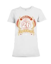 MIRACLE TWENTY SIX YEARS OLD BIRTHDAY Premium Fit Ladies Tee thumbnail