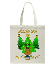 Reindeer Christmas Shirt Tote Bag thumbnail