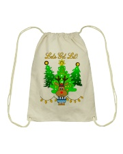 Reindeer Christmas Shirt Drawstring Bag thumbnail