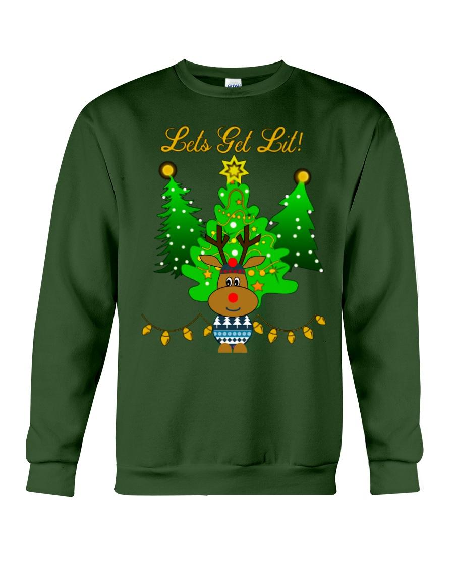 Reindeer Christmas Shirt Crewneck Sweatshirt