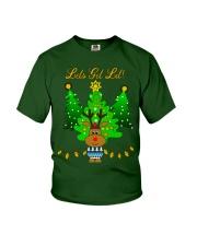 Reindeer Christmas Shirt Youth T-Shirt thumbnail