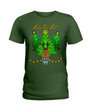Reindeer Christmas Shirt Ladies T-Shirt thumbnail