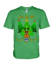 Reindeer Christmas Shirt V-Neck T-Shirt thumbnail