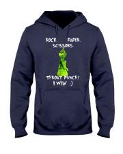 Rock-Paper-Scissors-Throat-Punch Hooded Sweatshirt thumbnail