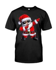 Dabbing Santa Claus Christmas Classic T-Shirt front