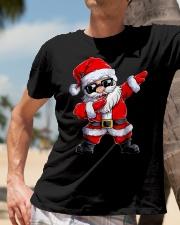 Dabbing Santa Claus Christmas Classic T-Shirt lifestyle-mens-crewneck-front-11