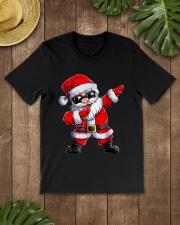 Dabbing Santa Claus Christmas Classic T-Shirt lifestyle-mens-crewneck-front-18