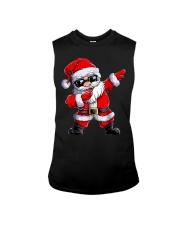 Dabbing Santa Claus Christmas Sleeveless Tee thumbnail