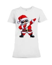 Dabbing Santa Claus Christmas Premium Fit Ladies Tee thumbnail