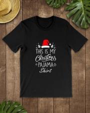This-is-My-Christmas-Pajama-Shirt-Funny-Christmas Classic T-Shirt lifestyle-mens-crewneck-front-18