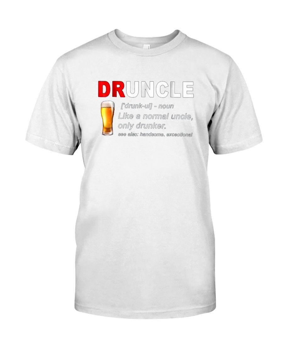 Druncle-Beer-shirt Classic T-Shirt