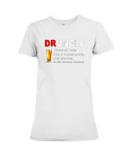 Druncle-Beer-shirt Premium Fit Ladies Tee thumbnail