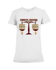 TEE CHAOTIC NEUTRAL T Shirt Premium Fit Ladies Tee tile