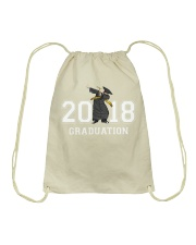 The Dabbing Graduation Class Of 2018 Drawstring Bag thumbnail