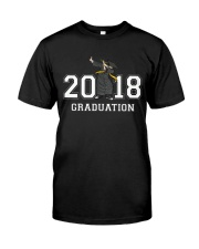 The Dabbing Graduation Class Of 2018 Classic T-Shirt front