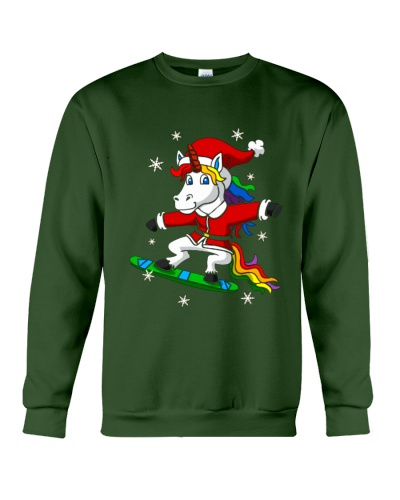 Unicorn Santa Christmas