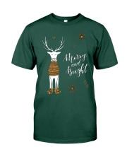Merry and Bright Deer Shirt Premium Fit Mens Tee thumbnail