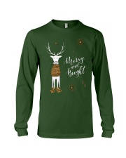 Merry and Bright Deer Shirt Long Sleeve Tee thumbnail