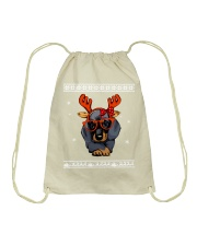 CHRISTMAS DOG Shirt Drawstring Bag thumbnail
