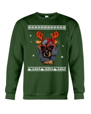 CHRISTMAS DOG Shirt Crewneck Sweatshirt front