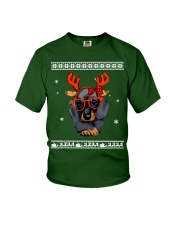 CHRISTMAS DOG Shirt Youth T-Shirt thumbnail