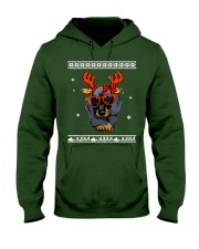 CHRISTMAS DOG Shirt Hooded Sweatshirt thumbnail