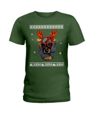 CHRISTMAS DOG Shirt Ladies T-Shirt thumbnail