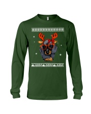 CHRISTMAS DOG Shirt Long Sleeve Tee thumbnail