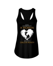 A Woman Who Has A Child In Heaven Ladies Flowy Tank thumbnail