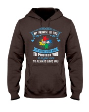 My Promise To You To Fight For You - Autism Mom Hooded Sweatshirt thumbnail