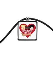 HavaHeart Rescue Store Cord Rectangle Necklace thumbnail
