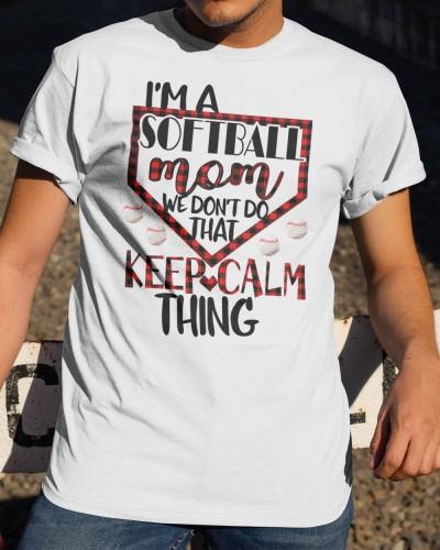 Im A Softball Mom Shirts
