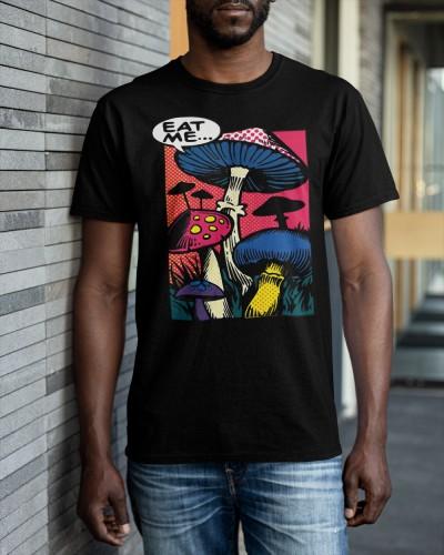 eat me mushroom shirt