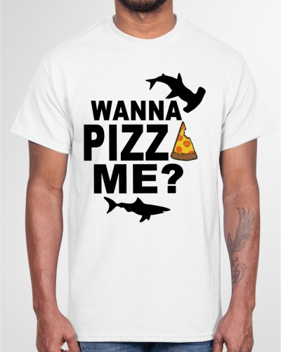 wanna pizza me shirt walmart
