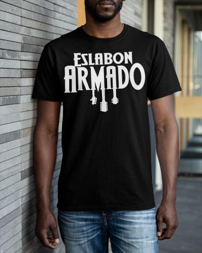 eslabon armado merch shirts