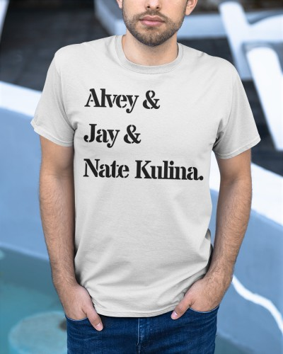 Alvey Jay and Nate Kulina MMA shirt