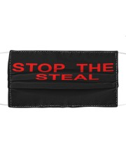 stop the steal face mask Cloth face mask front