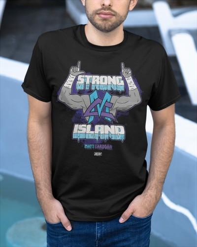 Matt Cardona Strong Island shirt