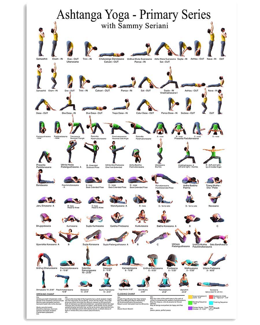 Ashtanga Yoga HD 2020 16x24 Poster